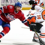 Recap – IceCaps vs Phantoms: Slow Start to Road Trip for Baby Habs