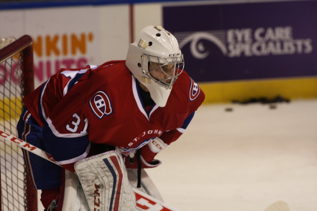Zach Fucale (Photo by Amy Johnson | Rocket Sports Media)